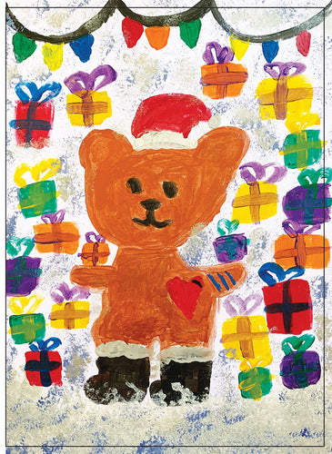 Holiday Choco Bear (by Aileen)