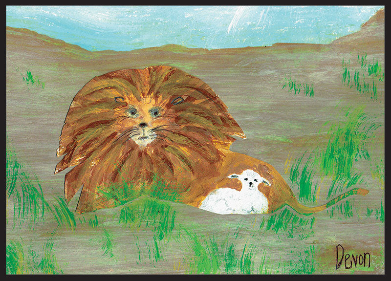 Lion and Lamb (by Devon) Front