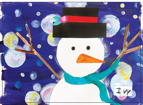 Winter Snowman (by Ivy)