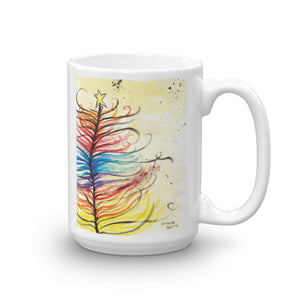 Feather Tree by Miranda Mug