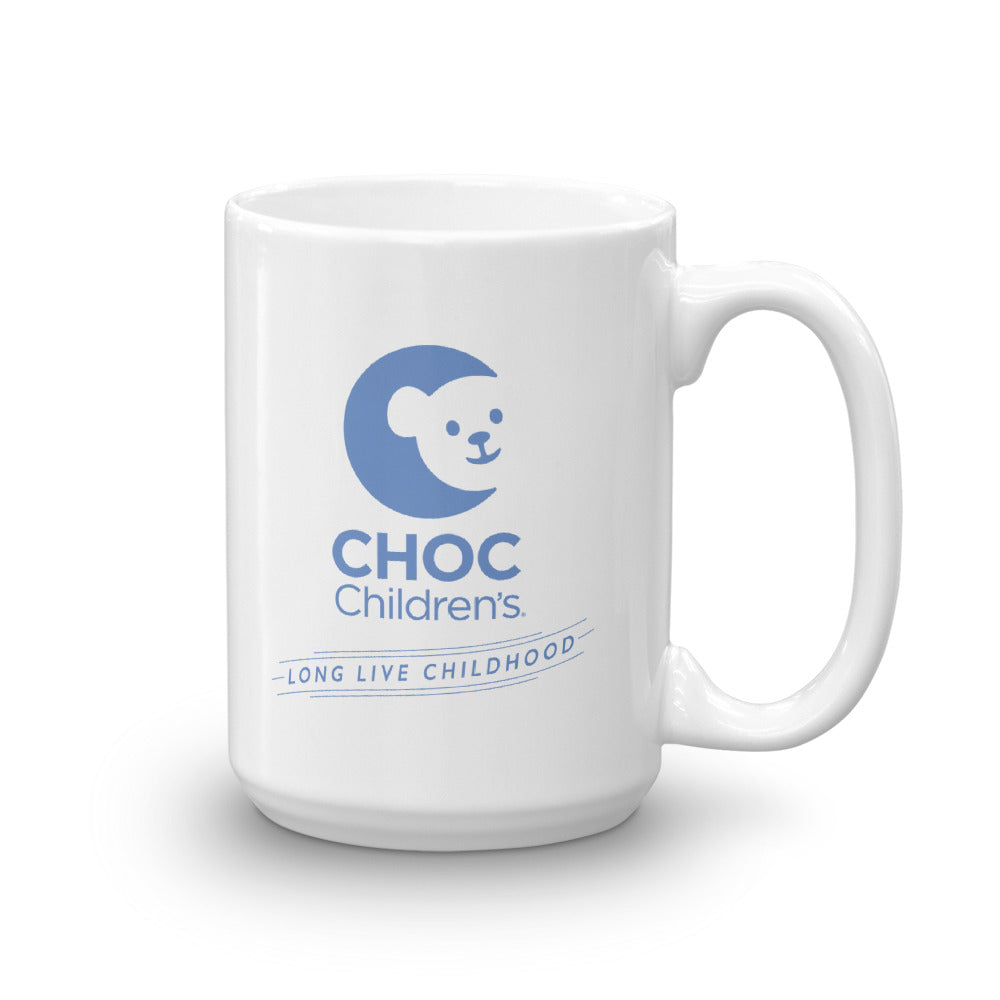 CHOC Children's Hand Drawn Choco Bear Mug