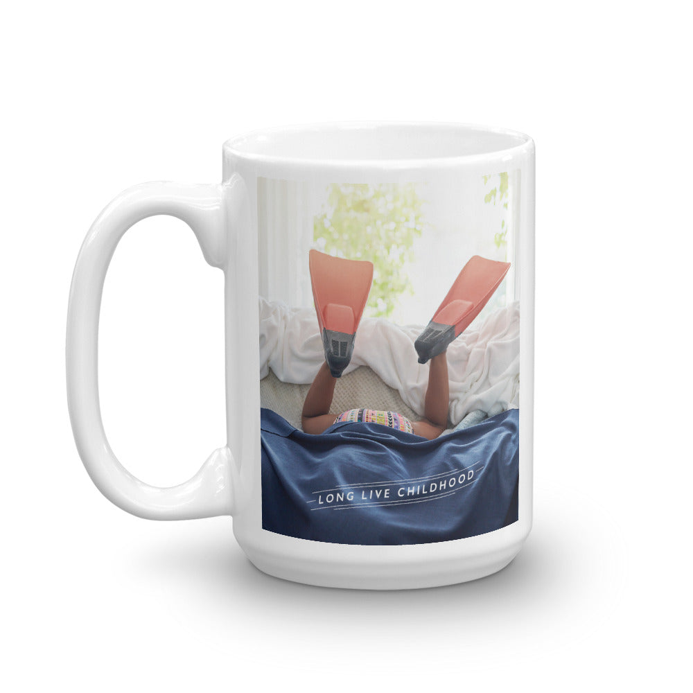 CHOC Children's Long Live Childhood Mug - Swim Fins