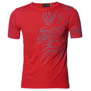 JECKSION Short Sleeve T-Shirts Slim Design