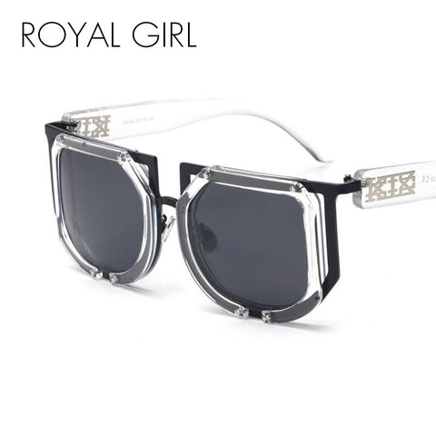 ROYAL GIRL Fashion Polarizing Luxury Sunglasses Women Brand Design Vintage Men Sun Glasses Decoration Big Frame Eyewear ss557