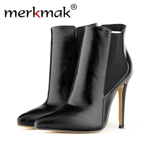 Merkmak High Heels Shoes 11 cm, Wedge Platform