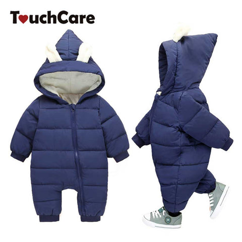 Touchcare Baby, Warm Cute Rabbit Ear Rompers