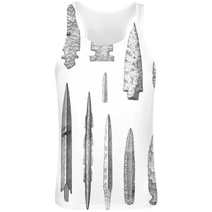 Neolithic Sublimation Tank Top T-Shirt For Men - 100% Soft Polyester - Custom Printed Mens Clothing