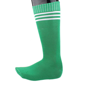1 Pair Cotton sport socks men And Women, Striped Soccer Warm Cotton