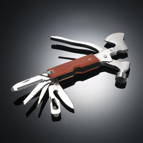 16-in-1Hatchet Knife | Screwdriver Pliers Saw Blade Emergency Auto Rescue Tools