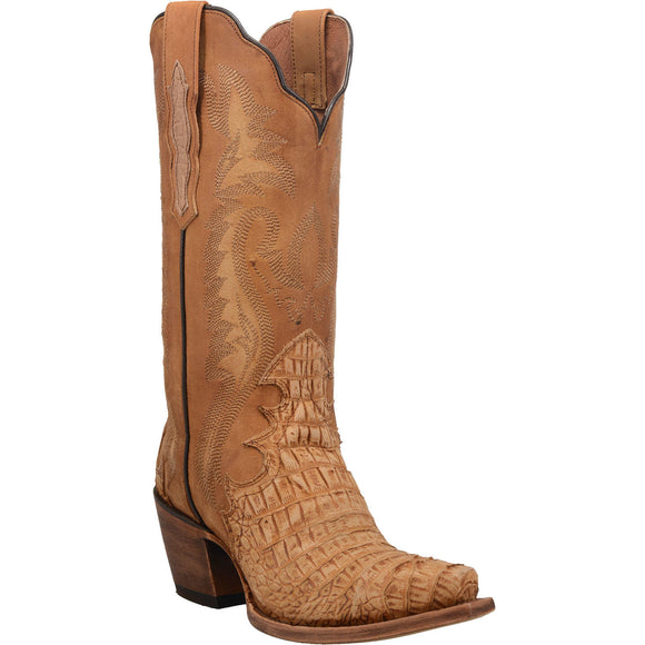 Women's Dan Post Remy Caiman Belly PRINT Boots Handcrafted