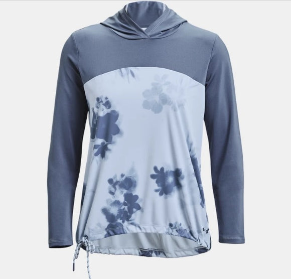 New! Under Armour Iso-Chill Fusion Long-Sleeve Hoodie for Ladies