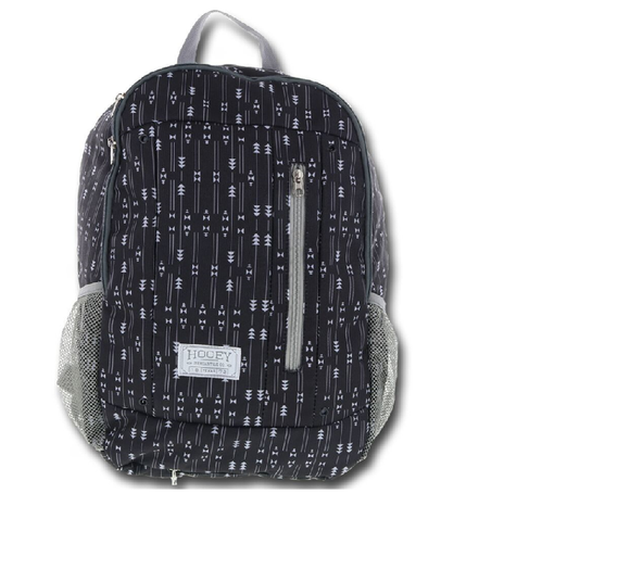 HOOEY BACKPACK BLACK AND DARK GRAY