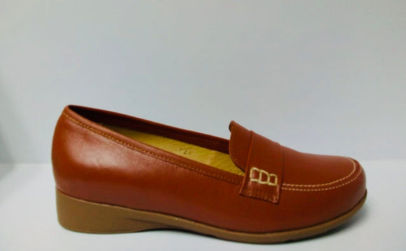 ZAPATOS LOAFER CAFE DE MUJER