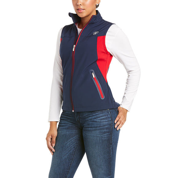 WOMEN'S New Team Softshell Vest