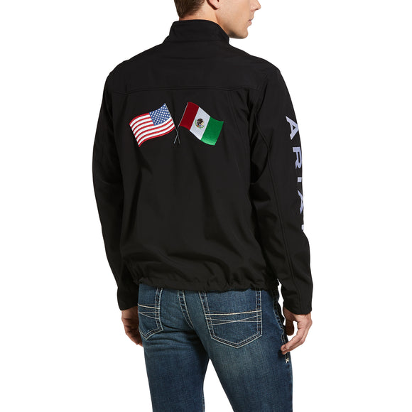 MEN'S New Team Softshell MEXICO Water Resistant Jacket