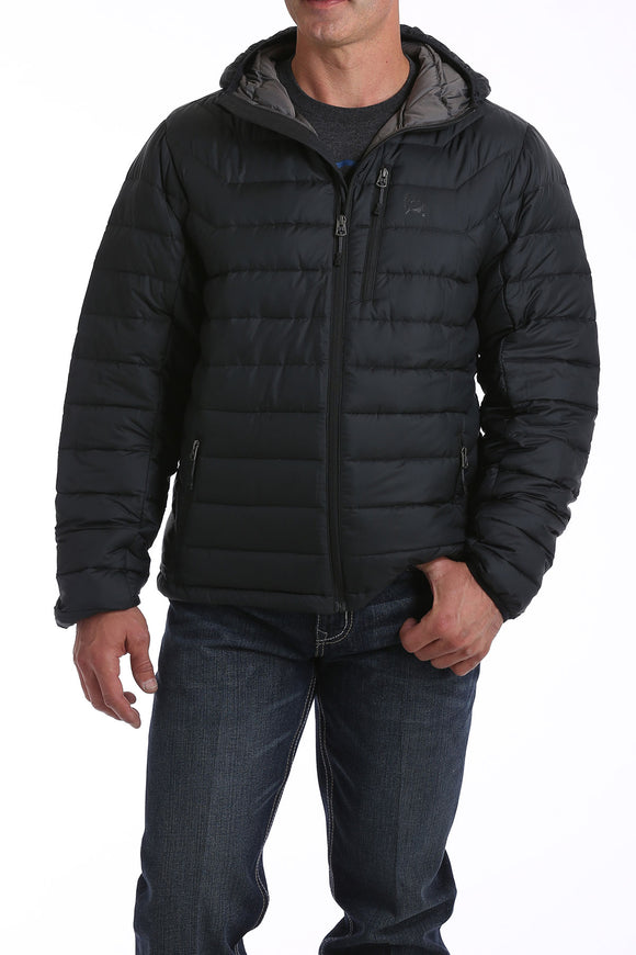 CINCH MEN'S HEAVYWEIGHT DOWN JACKET - BLACK