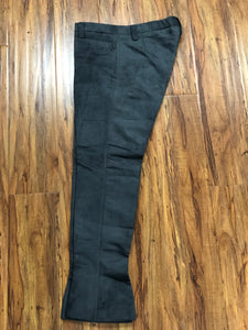 PANTALONES DE CHARRO. AUTHENTIC CHARRO PANTS THAT ARE DARK GREY , HerraduraDeOro - HerraduraDeOro