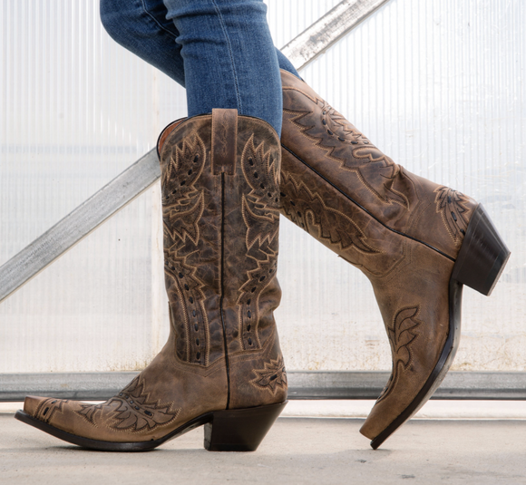 WOMEN'S SIDEWINDER LEATHER BOOT