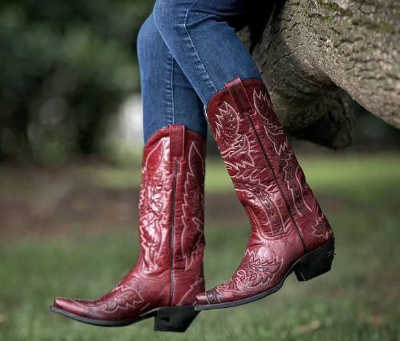 WOMEN'S SIDEWINDER LEATHER BOOTS
