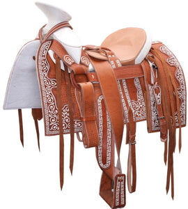 Mexican Charro Pita Saddle