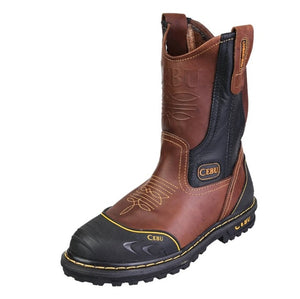 "Cebu TK Soft Toe 10"" Pull On Work Boots."