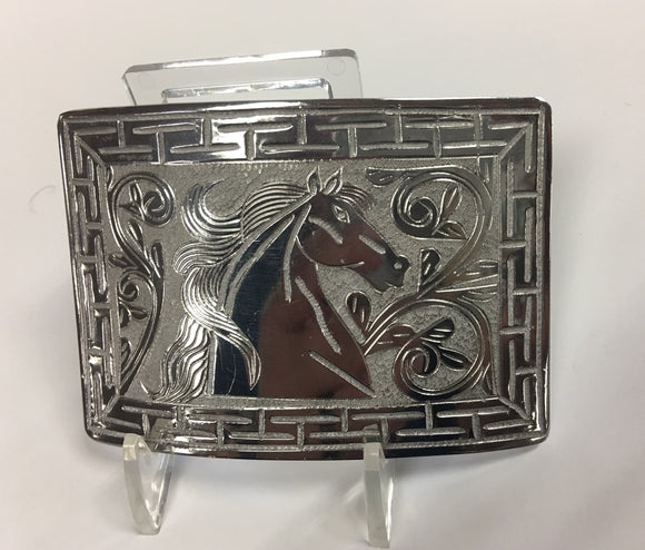 Stainless Steel Charro Buckle