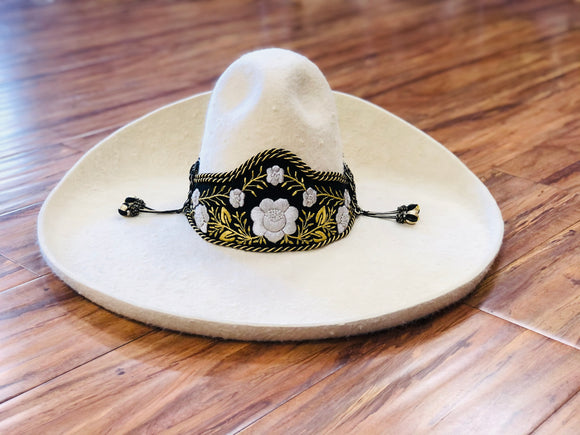 SOMBREROS DE CHARRO DE PELO COLOR AMARILLO CLARO. AUTHENTIC CHARRO HAT  LIGHT YELLOW COLOR CHARRO HAT