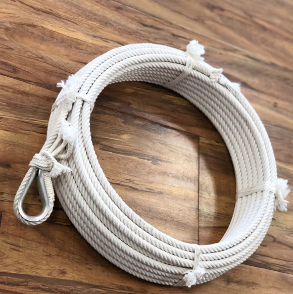 COTTON RANCH ROPES. REATA DE ALGODON DE RANCHO
