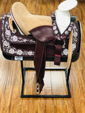 1in. Trevor Brazile Relentless Black Extreme Roper Gel Saddle Pad