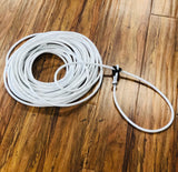 Soga Para Florear .70FT. ALL WHITE TRICK ROPING ROPE