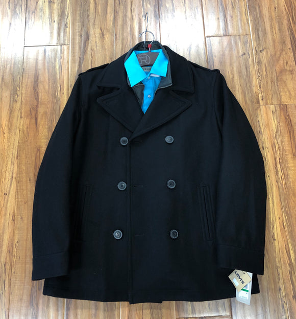 Men's Double-Breasted Pea Coat