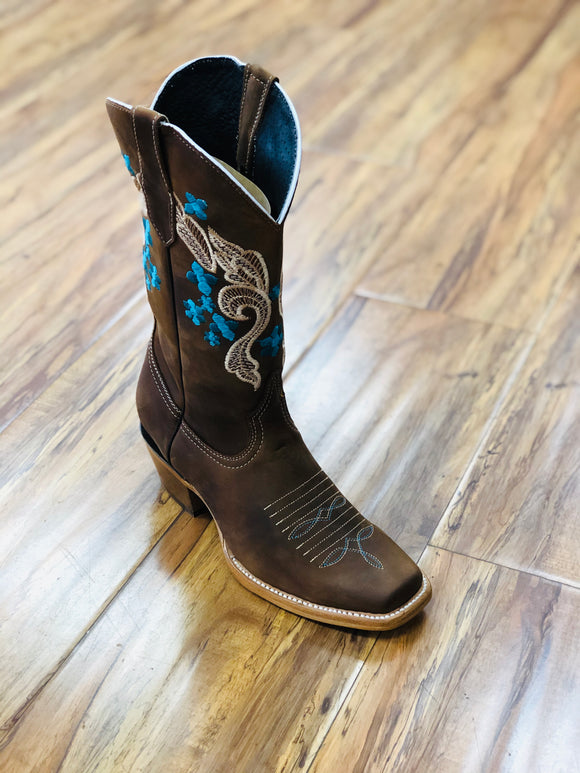 Brand New Brown Women's Cowboy Boots
