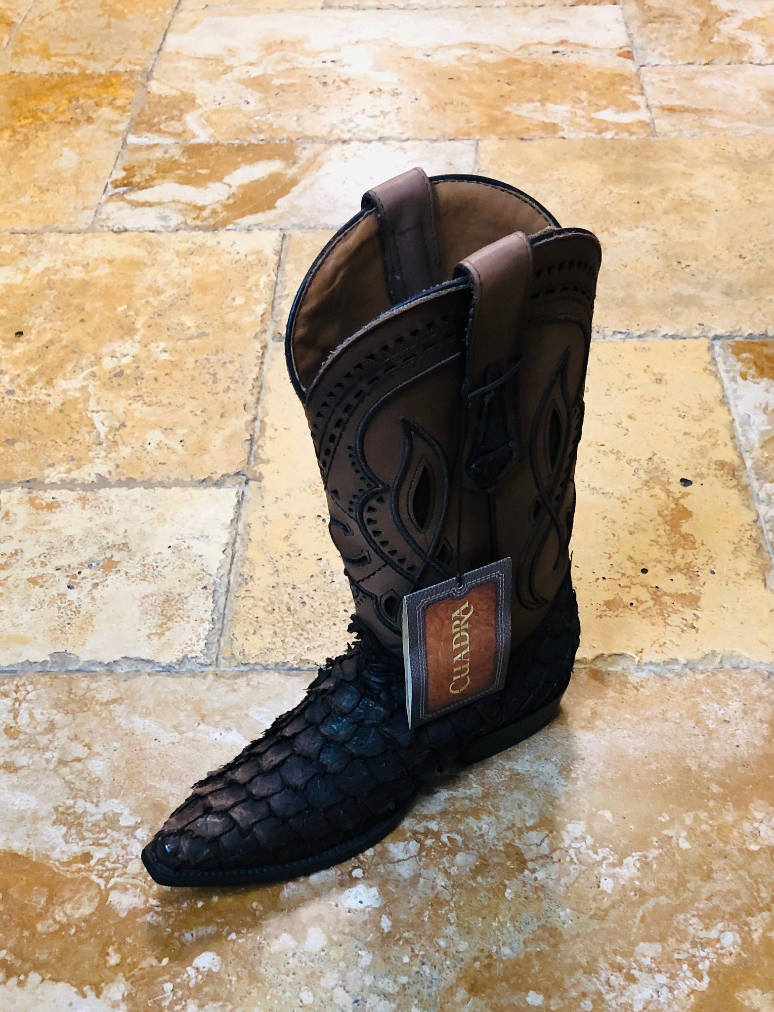 Genuine leather wallet made by Cuadra boots