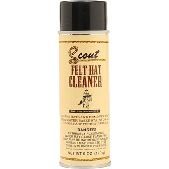 Scout Light Felt Hate Cleaner , HerraduraDeOro - HerraduraDeOro