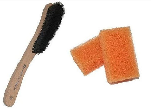 Scout Unisex Felt Hat Brush and Cleaning Sponge , HerraduraDeOro - HerraduraDeOro
