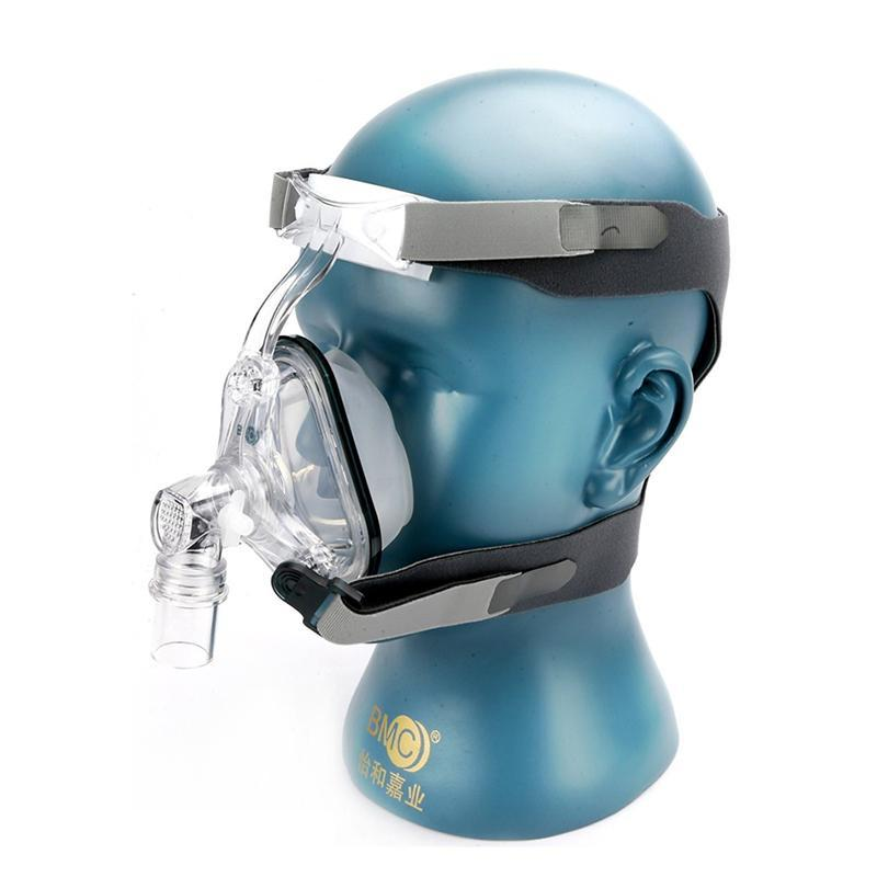 NM1 Nasal Mask For CPAP Machine Use Sleep Snoring OSAS Therapy Size SML  With Belt Cushion Clips Easy Cleaning Connect Hose