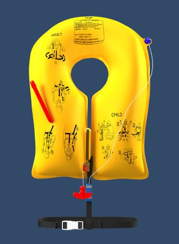 Single-Cell Life Vest: EAM UXF-35 Series - P/N P01202-101 5 years (Commercial)