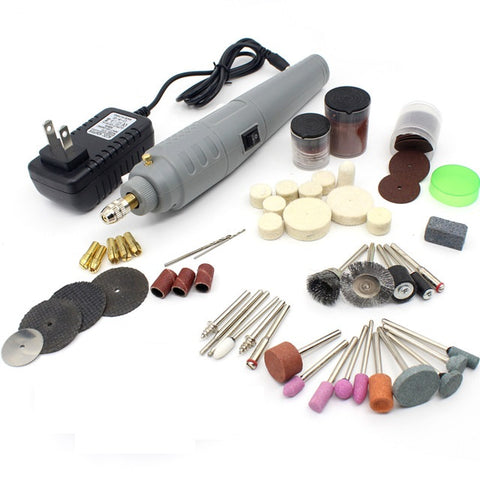 PCE 605K52 3-Amp Oscillating Multi-Tool Kit with 52 Accessories