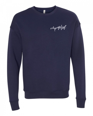 'Empowered' Crew Neck Sweatshirt