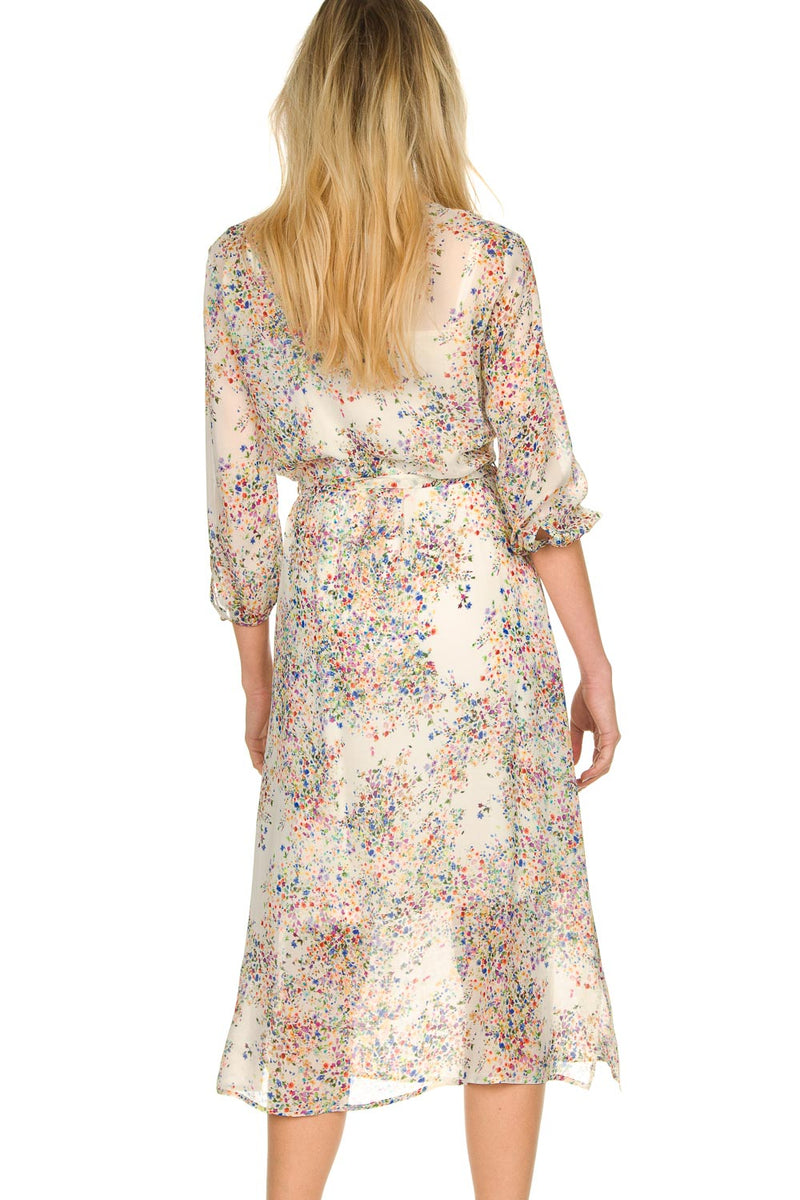 Set Fashion Tyron Floral Printed Dress