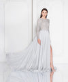 Long Sleeve Evening Gala Prom Gown. Robe de soirée Robe de bal