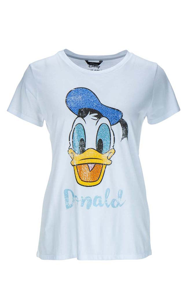 Princess Goes Hollywood Donald Duck T-Shirt with Rhinestones
