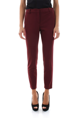 Narrow Leg Classic Women Pants with Side Pockets. Pantalon femme avec poches latérales