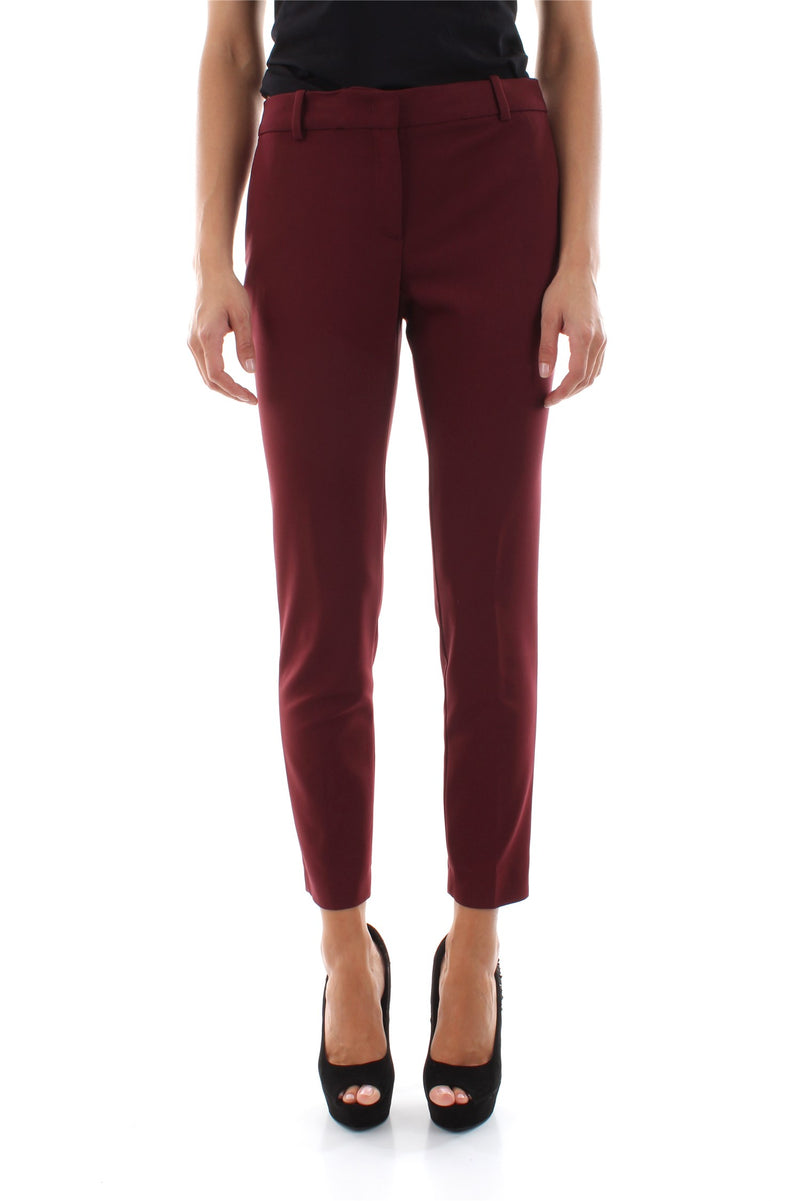 Liu Jo Narrow Leg Classic Women Pants with Side Pockets. Pantalon femme avec poches latérales