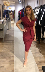Designer Canadienne Greta Constantine Robe cocktail Dress