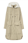 Luisa Cerano Rain Jacket with detachable  Hoodie