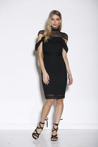 Ministry of Style High Neck Lace Dress