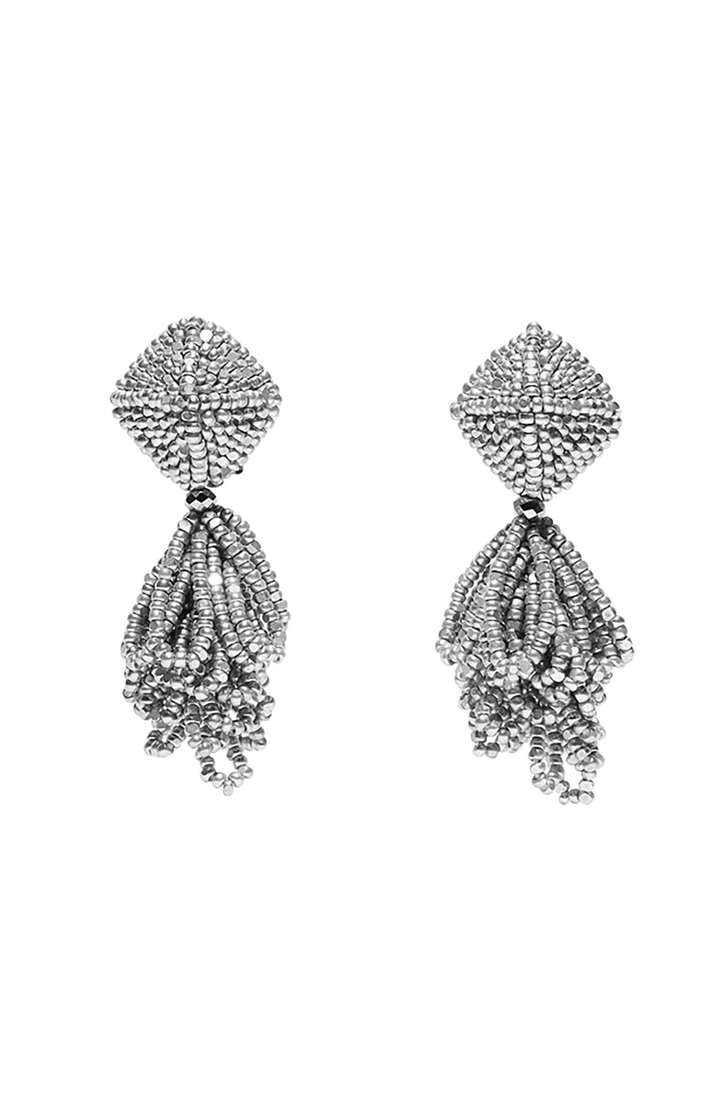 SACHIN & BABI Mini Lulu Earrings Silver. Pendants d'oreilles argentée