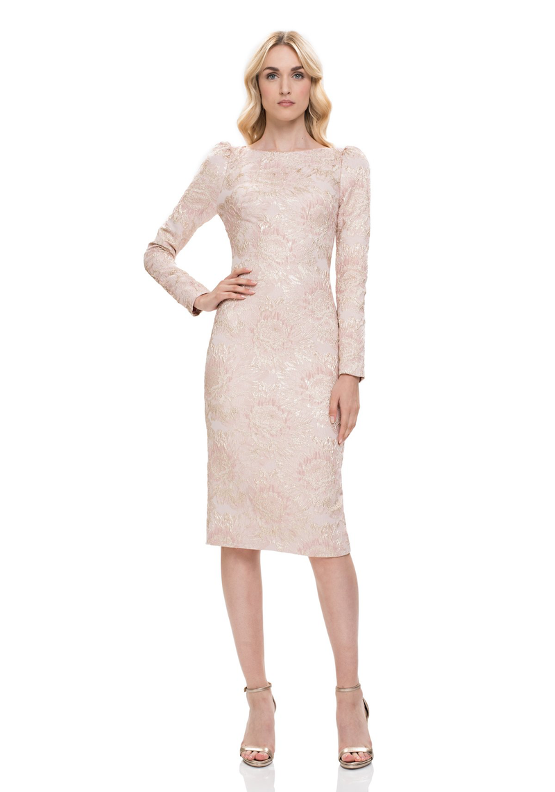 Robe de cocktail de créateur. THEIA Designer Cocktail Dress