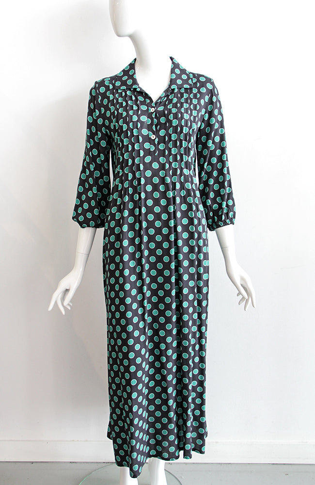 ALEMBIKA Circle Print Dress